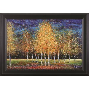Evening Grove Melissa Graves-Brown Framed Painting Print by Art Effects