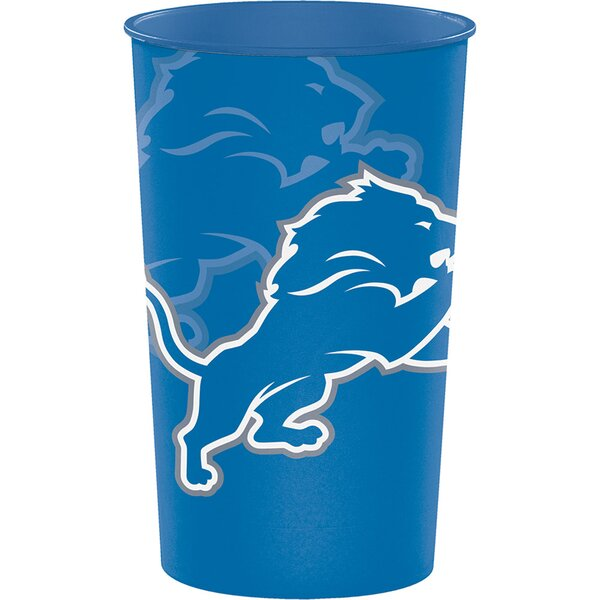 NFL Team 22 oz. Plastic Souvenir Everyday Cup (Set of 8) by Creative Converting