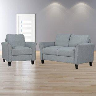 Felis 2 Piece Living Room Set by Red Barrel Studio®