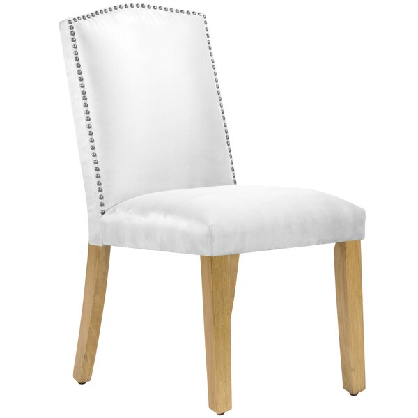 Nadia Parsons Chair with Nail Buttons by Wayfair Custom Upholstery™