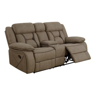 Tien Reclining Motion Sofa with Console Latitude Run