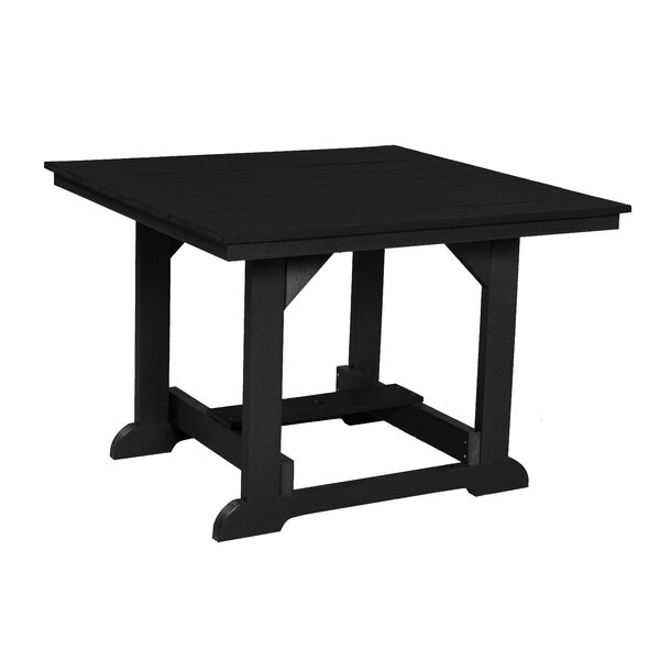 Patricia Plastic/Resin Dining Table by Rosecliff Heights Rosecliff Heights
