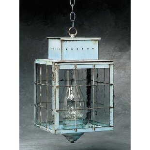 Inexpensive Wildes 1-Light Outdoor Hanging Lantern By Breakwater Bay