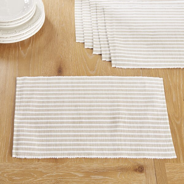Huddersfield Placemats (Set of 6) by Birch Lane™
