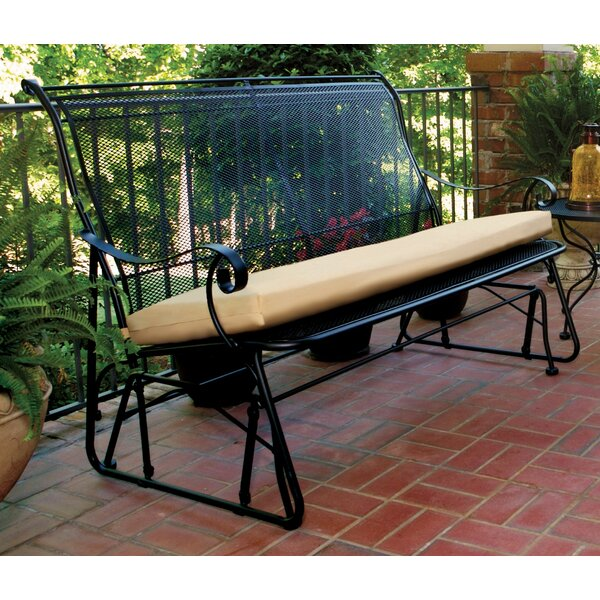 Urias Glider Bench by Fleur De Lis Living