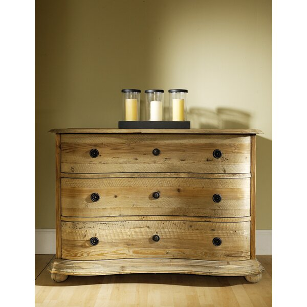 Salvaged Wood 3 Drawer Standard Dresser by Padmas Plantation