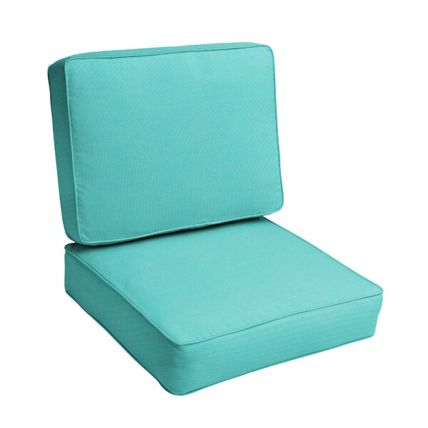 Indoor/Outdoor Sunbrella Seat/Back Cushion