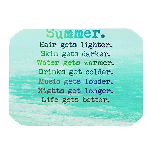 Summer XXL Placemat by KESS InHouse