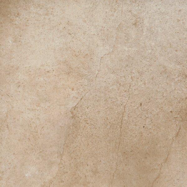 St Moritz II 12 x 12 Porcelain Field Tile in Cotton by Emser Tile