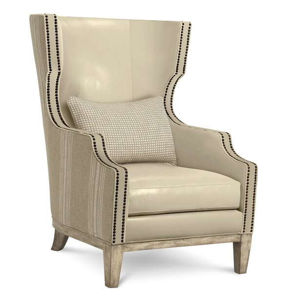 Warner Wingback Chair by Gracie Oaks