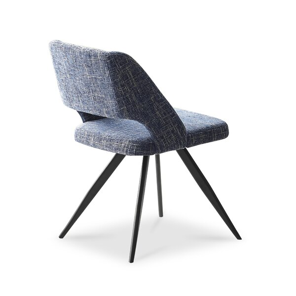 Shinault Upholstered Dining Chair (Set of 2) by Orren Ellis Orren Ellis
