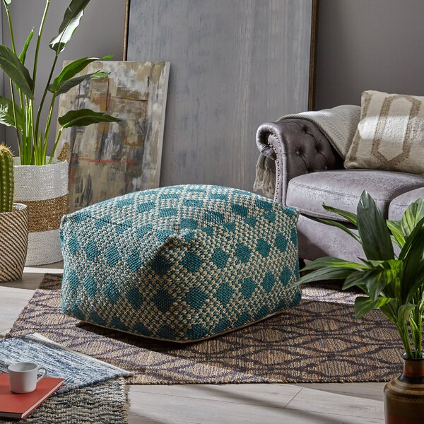 Belliveau Boho Pouf by Bungalow Rose