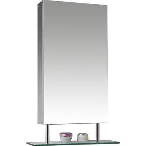 Silver Medicine Cabinets You'll Love | Wayfair