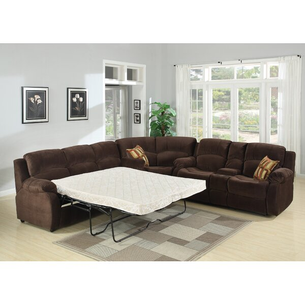 Kulp Reversible Sleeper Sectional