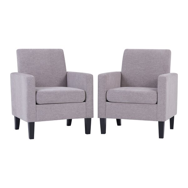 Hoehn Track Armchair (Set of 2) by Brayden Studio Brayden Studio
