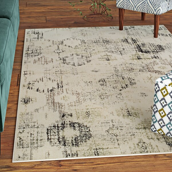 Harford Beige Area Rug by Bungalow Rose