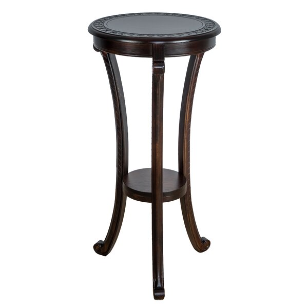 Needham Pedestal End Table By Highland Dunes Today Sale Only