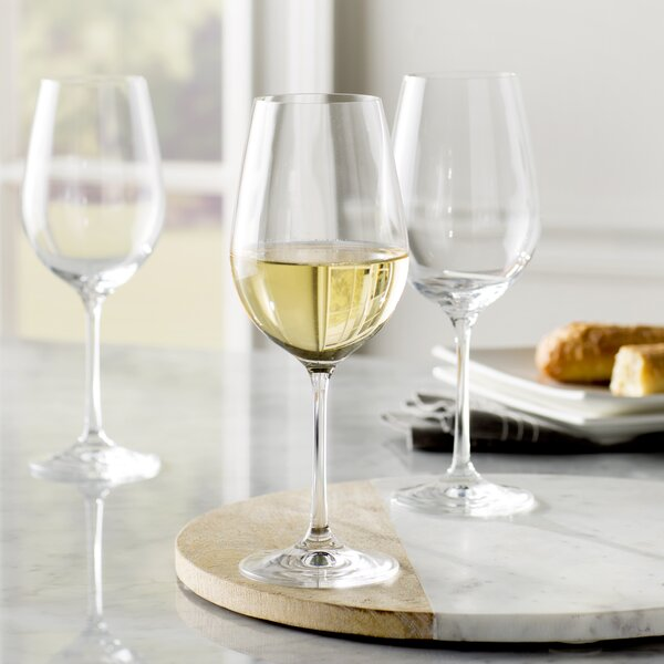 Steiger 15.25 oz. White Wine Glass (Set of 12) by Red Barrel Studio
