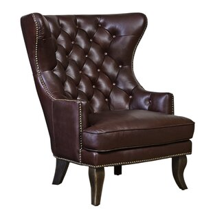 Merrill Wingback Chair  sc 1 st  Wayfair & Wingback Leather Chairs Youu0027ll Love | Wayfair