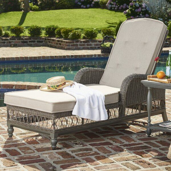 Dogwood Chaise Lounge with Cushion by Paula Deen Home