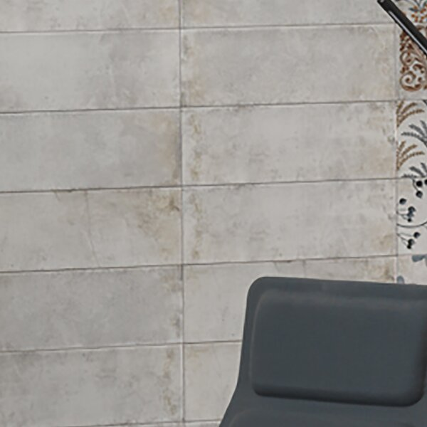 Byth 5.88 x 15.75 Ceramic Field Tile in Gray by EliteTile