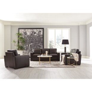 Boardmead 3-piece Track Arms Living Room Set Dark Brown By Coaster by Latitude Run®