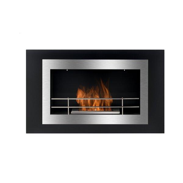 Lorenzo Wall Mounted Ethanol Fireplace by BioFlame