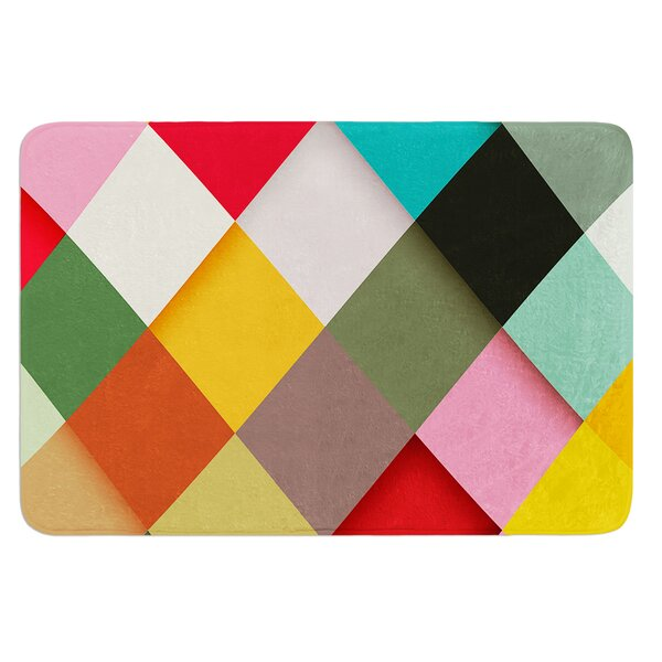 Colorful by Danny Ivan Bath Mat by East Urban Home