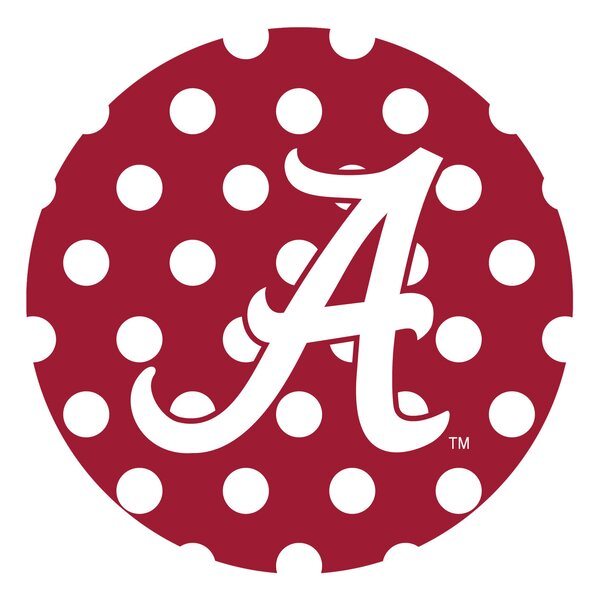 University of Alabama Dots Collegiate Coaster (Set of 4) by Thirstystone
