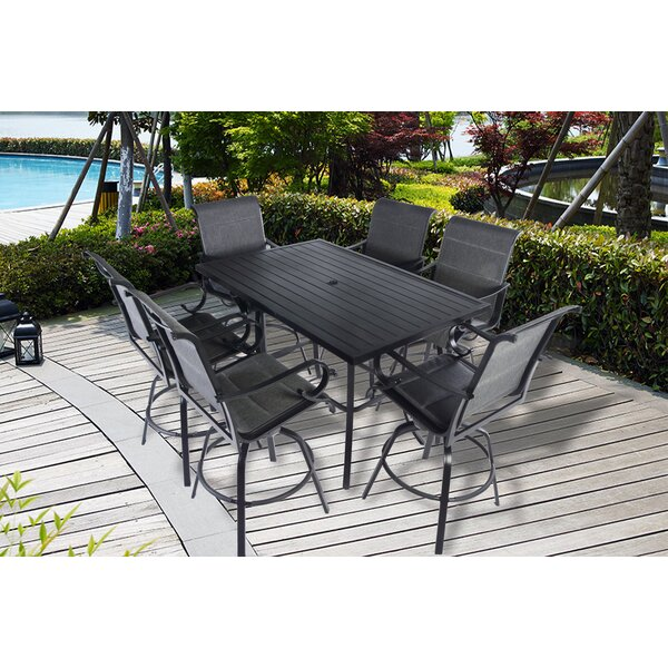 Cordoba 7 Piece Bar Dining Set by Darby Home Co