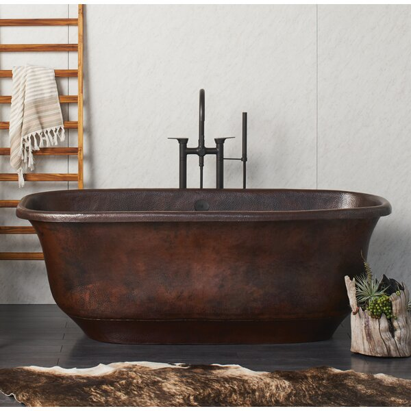 Santorini 66 x 32.5 Freestanding Soaking Bathtub by Native Trails, Inc.