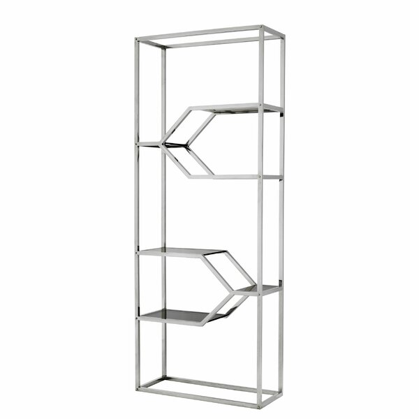 Geometric Bookcase by Eichholtz Eichholtz
