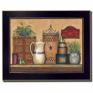 'Old Treasures' Framed Graphic Art Print by Trendy Decor 4U