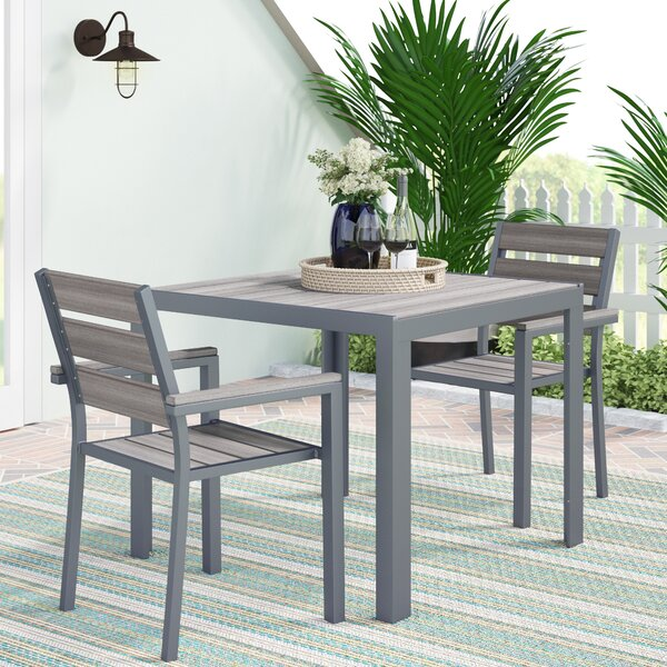 Allen 3 Piece Dining Set by Beachcrest Home