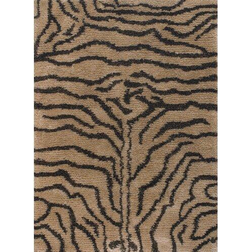 Vanetta Hand Woven Brown / Tan Area Rug