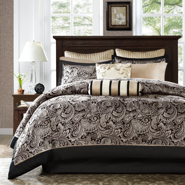 Pereira 200 Thread Count Comforter Set by Alcott Hill