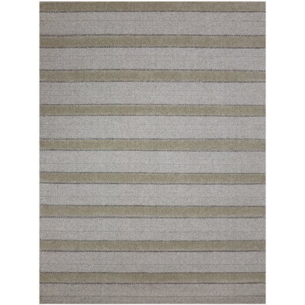 Dumont Modern Hand-Woven Natural Area Rug by Trent Austin Design