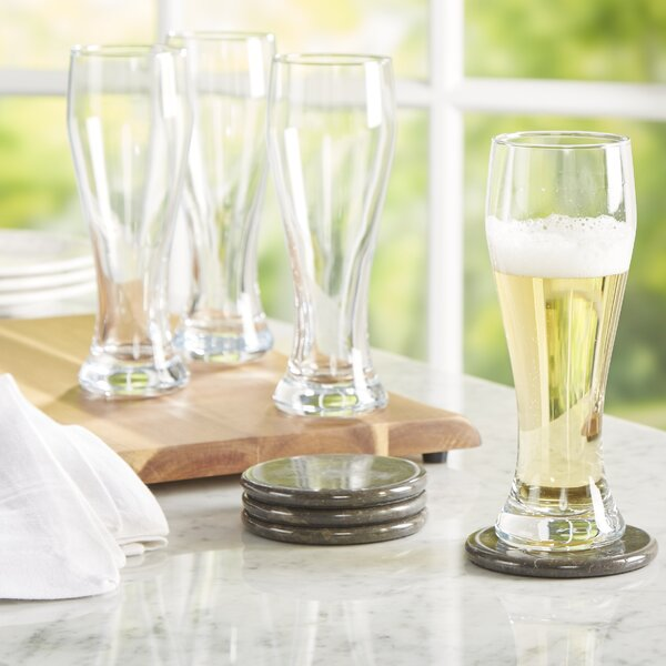 Wayfair Basics Pilsner Beer Glass (Set of 4) by Wayfair Basics™