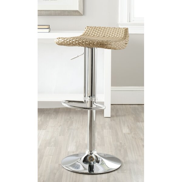 Auden Adjustable Height Swivel Bar Stool by Bay Isle Home