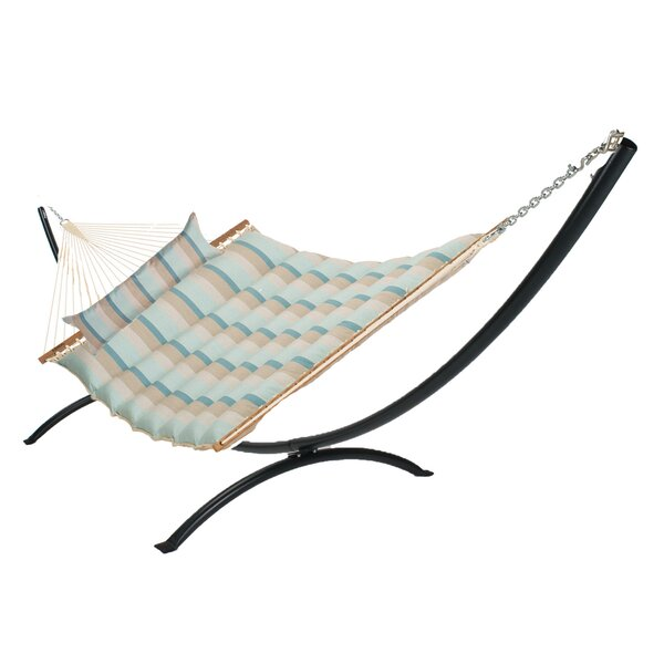 Menik Pillowtop Double Tree Hammock with Stand by Latitude Run