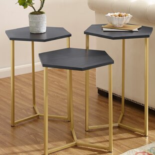 Searching for Labounty Hex 3 Piece Nesting Tables ByMercury Row