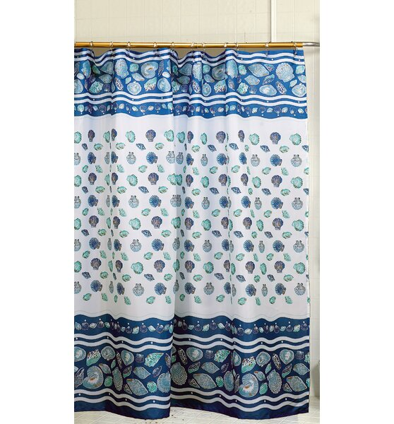 South Beach Shower Curtain by Carnation Home Fashions