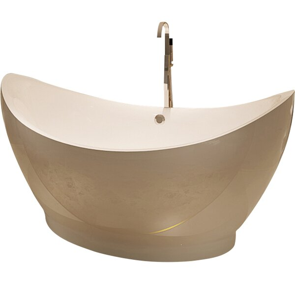 HelixBath Eleusis 67.75 x 31 Soaking Bathtub by Kardiel