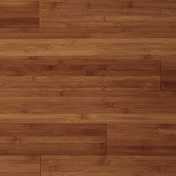 3-3/4 Solid Bamboo  Flooring in Caramel by Easoon