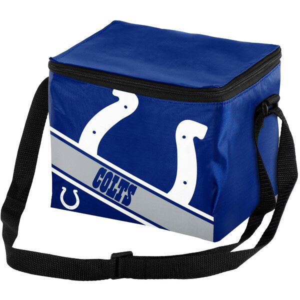 6 Can Big Logo Stripe Softsided Cooler by Forever Collectibles