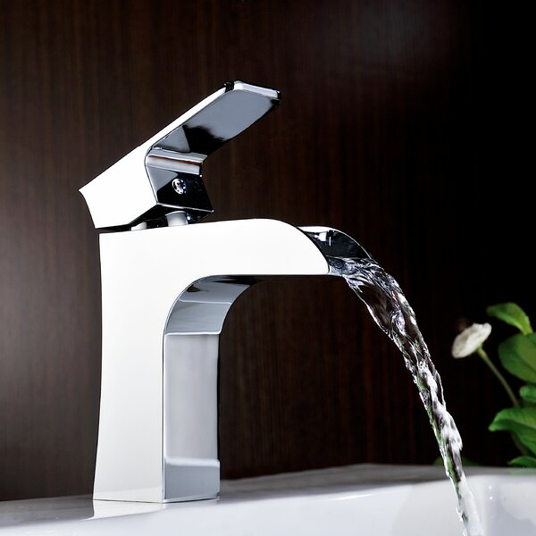 Forza Sinlge Hole Bathroom Faucet with Drain Assembly by ANZZI