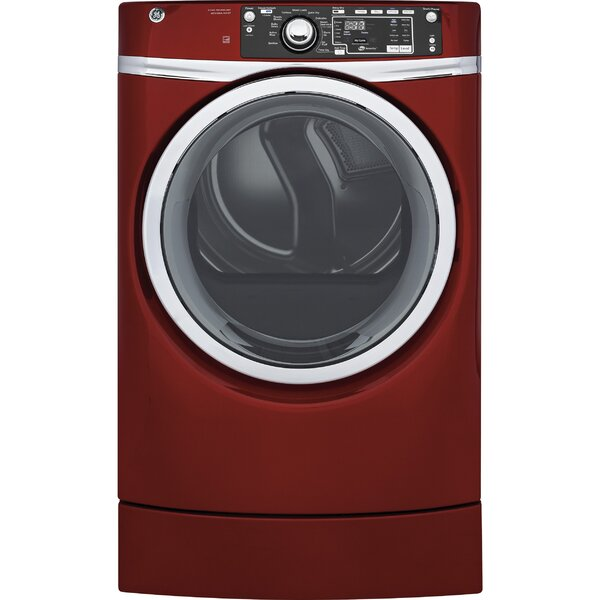 8.3 cu. ft. High Efficiency Electric Dryer with Steam by GE Appliances8.3 cu. ft. High Efficiency Electric Dryer with Steam by GE Appliances