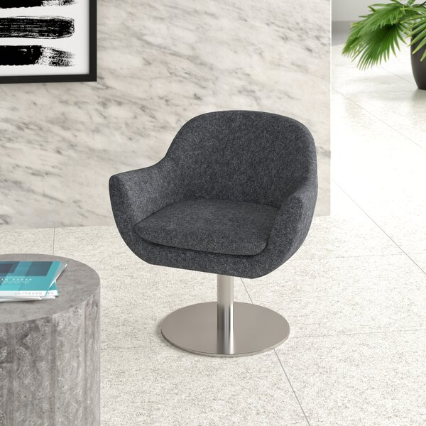Tiyrene Swivel Fabric Lounge Chair by Upper Square Upper Square™