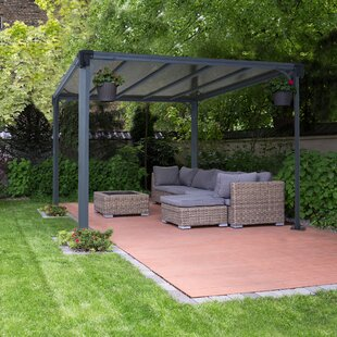 Milano 10 Ft. W X 10 Ft. D Aluminum Patio Gazebo