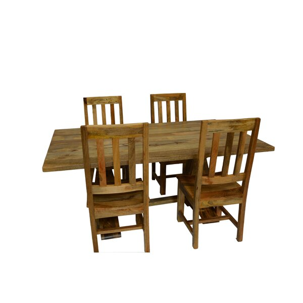 Harley 5 Piece Dining Set by Millwood Pines